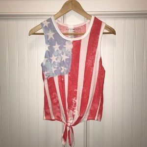 American Flag Tank 🇺🇸